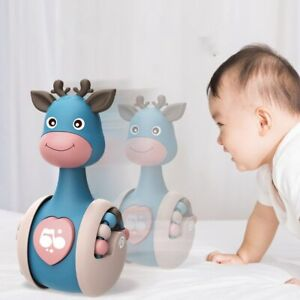 Baby Tumbler Rattle Learning Education Toys Newborn Infant Music Roly-poly Toy