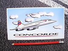 CONCORDE STICKER BRITISH AIRWAYS  AVIATION AEROPLANE AIRLINER SUPERSONIC