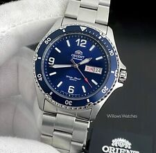 Orient Mako II Automatic Mens 200M Blue Dial Watch FAA02002D3 Brand New