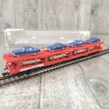 FLEISCHMANN 8296 - Spur N - Doppelstock Autotransporter - DB - OVP - #H32374