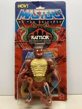 RATTLOR- Vintage Masters of the Universe Tarjeta /Carded 1985 Mattel