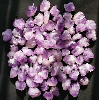 200g Random Natural Skeletal Purple Amethyst Crystal Cluster Display Specimen