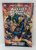 DC JUSTICE LEAGUE SANCTUARY Dwayne McDuffie Ed Benes Alan Burnett TPB