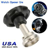 Watch Repair Kit Watchmaker Back Case Opener Link Remover Tool W/ 7 Dies US