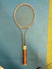"Vintage Wilson Tennis Racquet Racket Aluminum 4 5/8"" Retro 1970s"