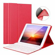 """US For iPad 2018 9.7"""" Wireless Bluetooth Keyboard with Stand Case Cover"""