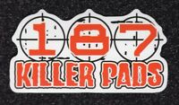 187 Killer Pads Vinyl Sticker  (Lot of 2)