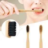 Bambuszahnbürste Holzgriff Khaki Weiche Borsten Für Erwachsene Oral Care Super