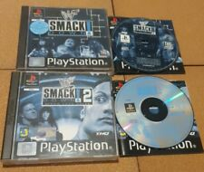 WWF Smackdown & Smackdown 2 Sony Ps1 Playstation 1 Wrestling Bundle Complete PAL