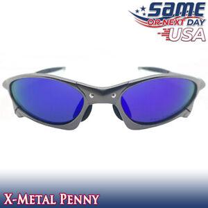 Penny X-Optics Metal Frame Polarized Sunglasses w/ Sapphire Iridium Lenses - USA