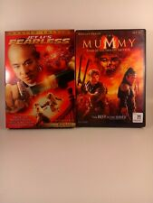 Jet Li DVD Lot - Fearless & The Mummy