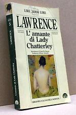 L'AMANTE DI LADY CHATTERLEY - Lawrence [Biblioteca economica newton 1997]