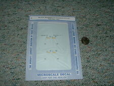 Microscale decals N 60-4124  Minnesota Corn Processors 40' 50' tank cars 94+ A79