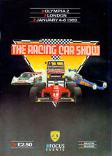 Racing Car Show Official Showguide Olympia 1989