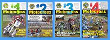 Motocross Skills MX Dirt Bike DVD Value Pack all 4 DVDs of Volume 2 Gary Semics