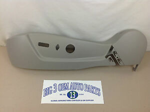 06-11 Cadillac DTS Buick Lucerne Titanium Driver Seat Cushion Side Shield new OE