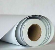 Autocollant blanc mat total covering automobile 12 m2 anti bulles d'air