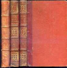 C.Chatelet: L'EGLISE et la FRANCE AU MOYEN AGE, 1859 - 3 volumes