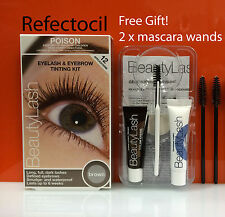 14947e4663d Refectocil Eyelash Eyebrow BeautyLash Tint Kit - Brown + mascara wands