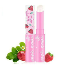 Ice soft strawberry lip balm warming lipstick slightly pink continuous lip balm*