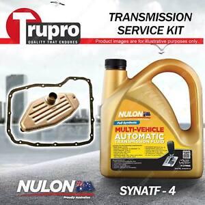 SYNATF Transmission Oil+ Filter Service Kit for Jeep Cherokee KJ Wrangler JK 4WD