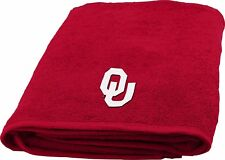 University of Oklahoma Sooners Bath Towel Dimensions are 25 x 50 inches