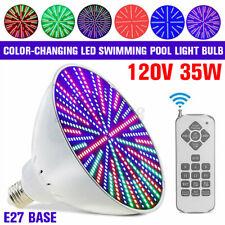 Color Change Led Swimming Pool Light Bulb 120V 35W for Pentair/Hayward Fixture