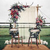 Macrame Wall Curtain Hanging Blanket Room Divider Door Window Wedding Backdrop