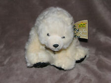 "WILD REPUBLIC Signature Series 10"" Uber Soft Plush POLAR BEAR Natural Pose NWT"