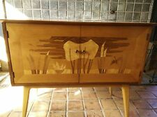 John Stuart Vintage 1950s MCM Credenza Sideboard Table Michigan Made