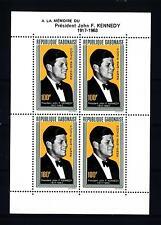 GABON - BF - 1964 - Primo anniversario della morte del Presidente Kennedy