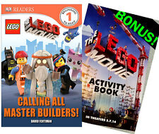 The Lego Movie Calling All Master Builders paperback + Bonus - DK Readers NEW