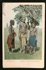 postcard Africa Nude Naked Women Ovamboneger Deutsch Sud west Afrika