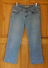 Roxy Ladies Size 3 Low Rise Cropped Blue Jeans
