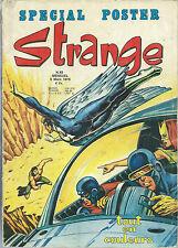 "RARE EO STRANGE N° 63 DE 1975 EDITION LUG + POSTER "" STRANGE GIRL & CYCLOPE """