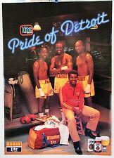 "Boxing Poster:Rare Kronk Gym ""Pride of Detroit"", Hearns, McCrory, Paul, Steward"