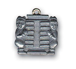 Pendentif Feng Shui - Double Trigramme Kun (Fabrication Française)