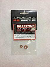 BASSZONE ABEC-7 3x8x4 + 5x11x4 Hybrid CERAMIC Bearings For Shimano , Daiwa