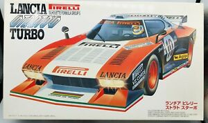 Fujimi Mokei 1/20 Silhouette Formula Gr5 Lancia Stratos Pirelli turbo 09019