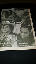 Everyday People I Guess It Doesn't Matter Rare U.K. Promo Poster Ad Framed!