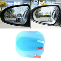 2Pcs Car Rearview Mirror Film Anti-Rain Fog Waterproof PET Clear Film Accessory