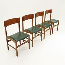 cinque sedie Art Decò anni 40, mid century dining chairs, 40's, 30's, italian