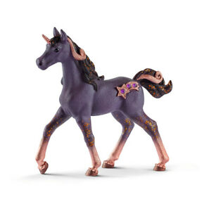 SCHLEICH Bayala Shooting Star Unicorn Foal Toy Figure (70580)