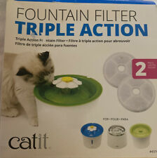 New listing Triple Action Flower Fountain Replacement Water Softening Filter 43745