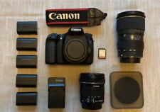 Canon EOS 70D 20.2MP Digital SLR Camera with 2 Lenses- GREAT BUNDLE!!