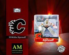McFARLANE NHL EXCLUSIVE - CALGARY FLAMES - MIIKKA KIPRUSOFF - FIGUR - NEU/OVP