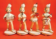 RETRO! Marching Band Girl Figurines Fine A Quality Vintage Estate Sale 1950s