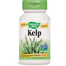 Nature's Way - Kelp Excellent Iodine Source Supplement 660 mg - 100 Capsules