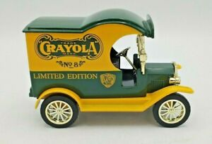 1912 Ford Delivery Car Crayola Truck Coin Bank No. 8 Limited Edition Gearbox Toy