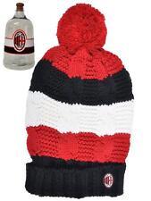 Abbigliamento Milan gadget tifosi cappello treccia ponpon  *01572